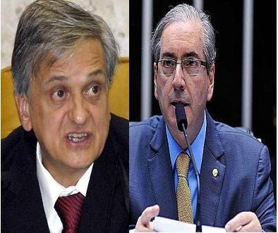 Antônio Fernando de Souza (foto Abr) e Eduardo Cunha (foto Luiz Macedo/Agência Câmara)