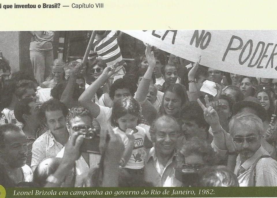 A volta de Brizola ao Brasil - Reprodução - Foto: Vidal Trindade - CPDoc-JB