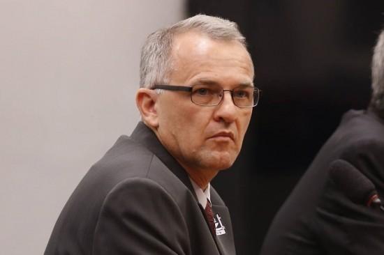 Dalmey Werlang na CPI da Petrobras -  Foto Lucio Bernardo Jr./ Ag. Câmra