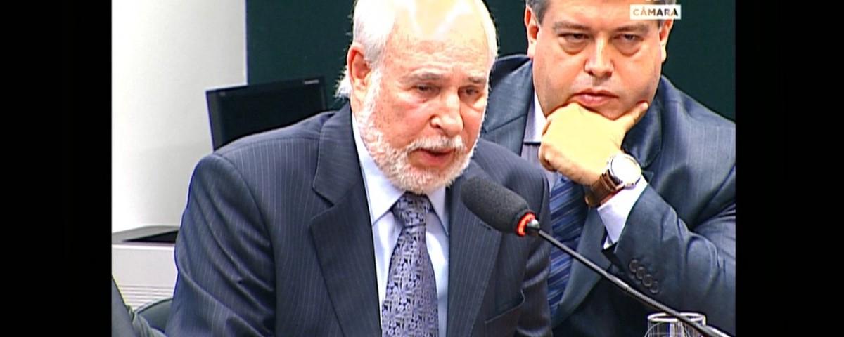 Julio Faerman depondo na Camara dos Deputados - Reprodução TV Câmara