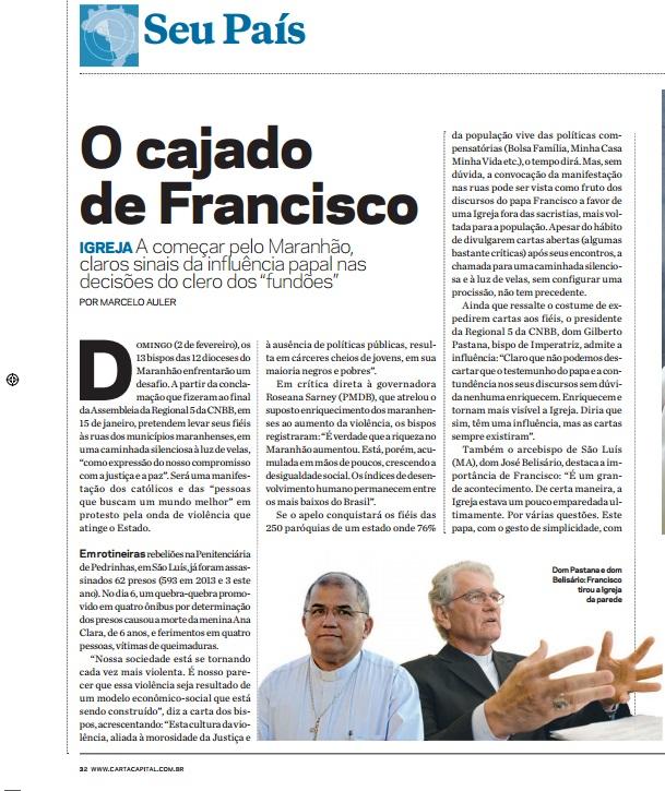O Cajado de Francisco 1
