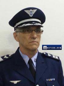 O falso tenente coronel que identificou-se como Luis Antonio Morgon Filho.