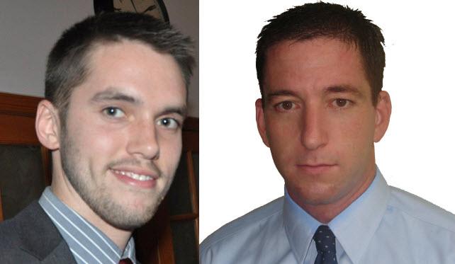 Os jornalistas Andrew Fishman e Glenn Greenwald, ainda que reconheçam que não há comprovação, levantam a tese do envolvimento norte-americano na crise brasileira. Foto: Reprodução da Internet