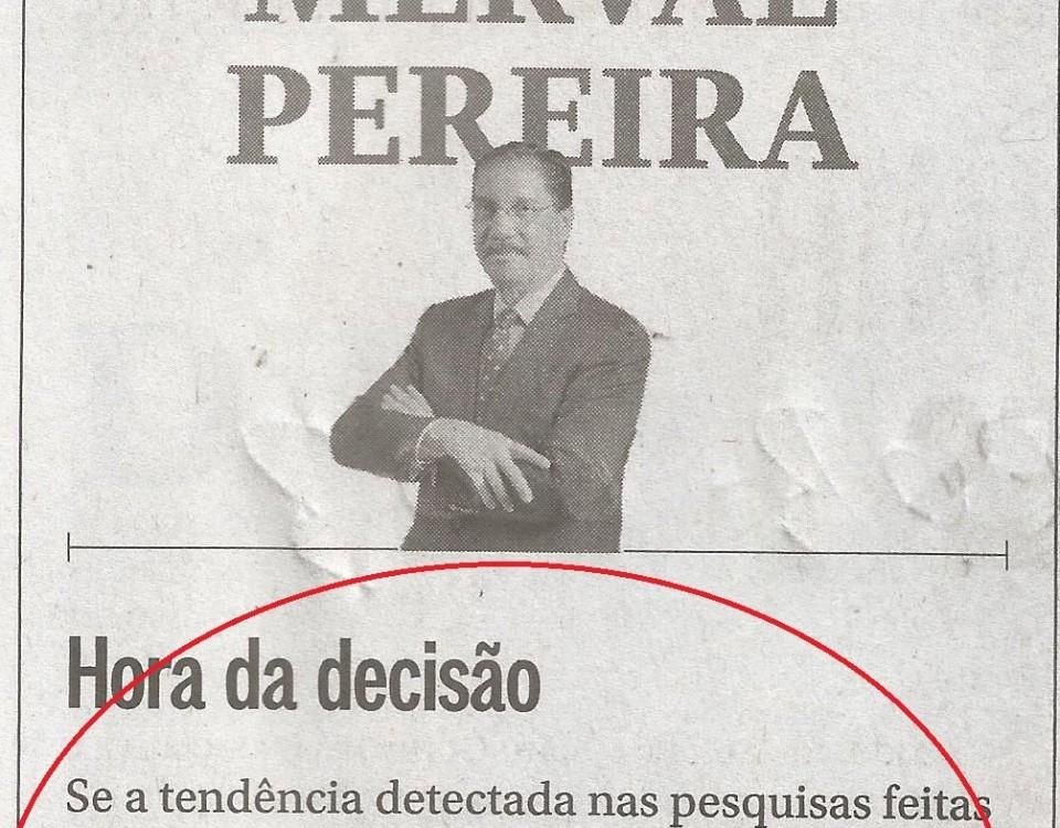 Na coluna deste domingo (17/04) a confissão de Merval Pereira. O impeachment é o terceiro turno para empossar quem não recebeu voto nas urnas.