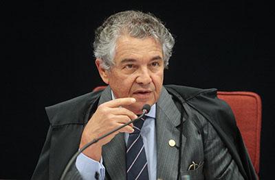 Marco  Aurélio Mello, alfinetada subliminar, em Moraes.- Foto: Carlos Humberto.SCO/STF