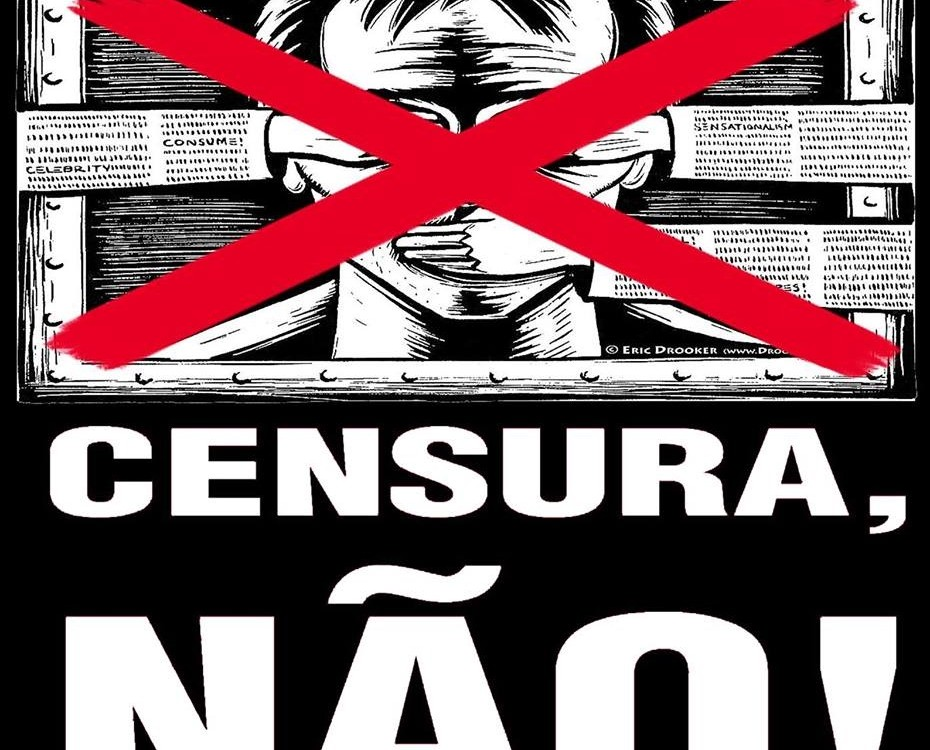 censura não de Luiz Carlos Cioutinho de Souza.
