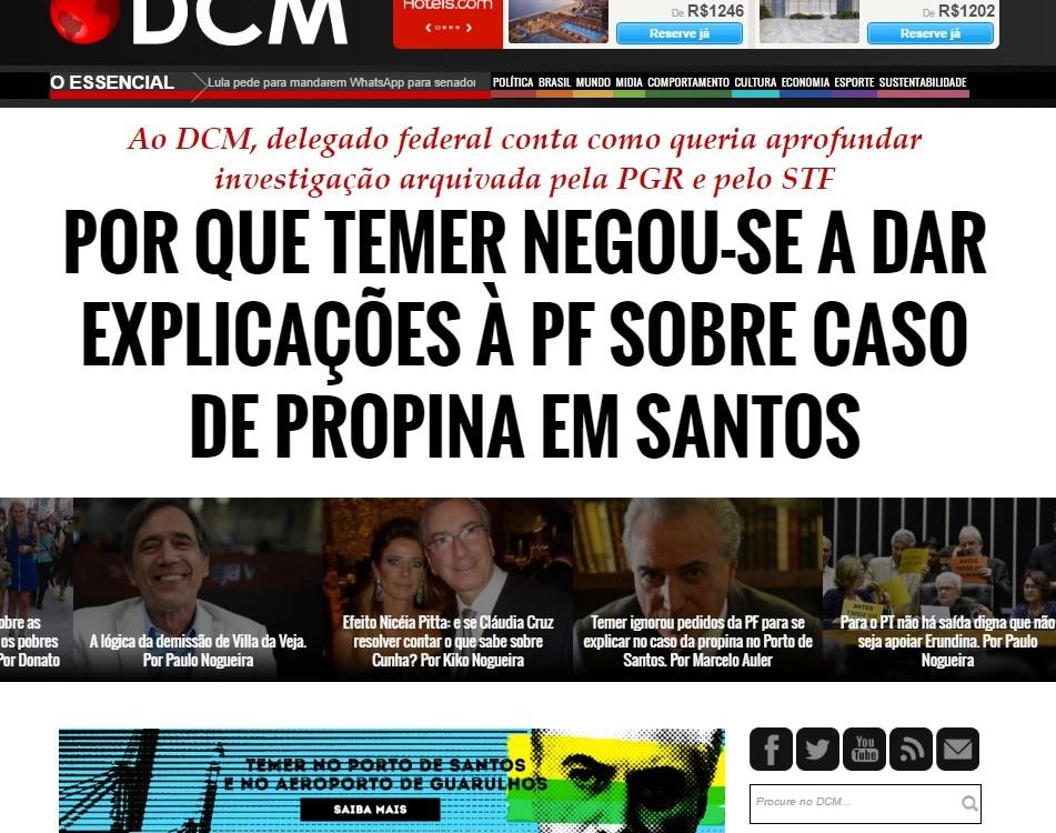 No Diário do Centro dom Mundo o início de uma série de reportagens