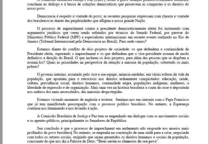 Nota CBJP 09.08.16
