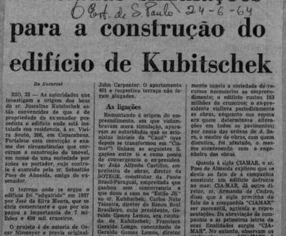 JK Correio da Manhã 24.06.1964 editada