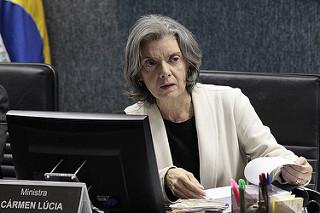 """Carmem Lúcia: """" quando um juiz é destratado, eu também sou"""". Foto: CNJ"""