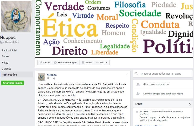 No blog do NUPPEC a análise comparativa da manifestação dos padres pró-Freixo com a Nota Oficial da Arquidiocese e a informação da convocação dos padres à Cúria.