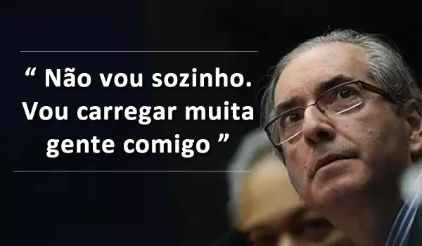 Promessa de Cunha. Quem irá lhe lembrar que promessa é dívida?