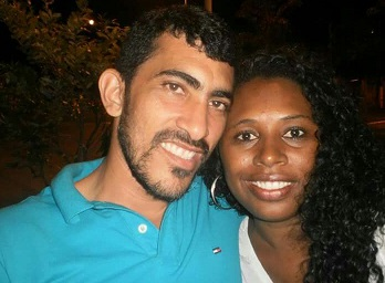Valdir e a mulher Vanicélia