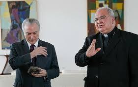 Dom Orani foi rezar com Michel Temer pela PEC 241. Isso não é partidarismo?