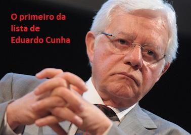 Cunha questiona se Temer foi responsável pela indicação de Moreira Franco para a vice presidência da CEF. Todos sabemos que foi.