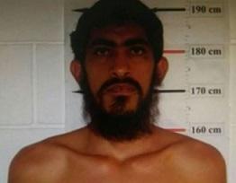 Valdir Pereira da Rocha, ao ser preso em julho passado.