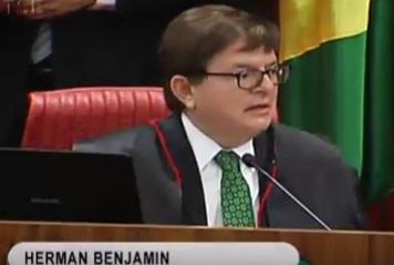 O ministro Herman Benjamin foi o único voto contrário. Não queria conhecer o HC