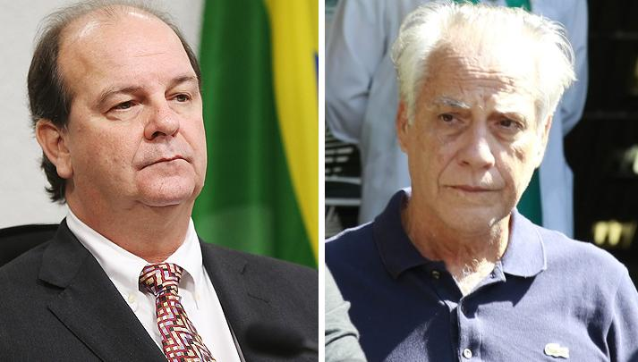 """Nas questões de Cunha ele tenta mostrar o relacionamento de Temer com João Augusto Henriques (à direita), que Gaspari lembra, ironicamente, que era conhecido como """"diretor dos diretores"""" e com Jorge Zelada. Foto reprodução internet. de"""