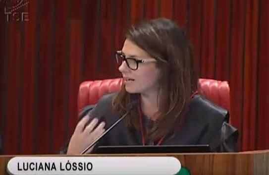 Ministra Luciana Lóssio criticou o vazamento e o fato de o juiz não ter narrado as conversas ao TSE.