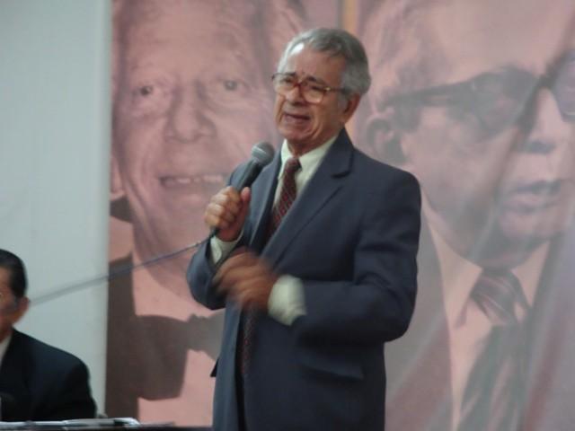 Modesto da Silveira na ABI, em 12 de abril de 2013