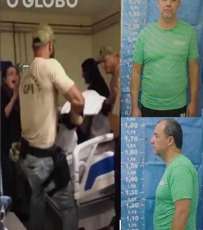 No quarto de um hospital a filmagem da transferência de Garotinho: retrocesso inaceitável