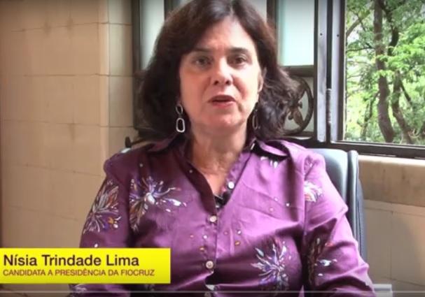 Servidora há ttrês décadas, Nísia Lima contar´=a com o apoio não apenas de toda a direção da Fiocruz e da maior parte de seus servidores, como de instituições como a SBPC.