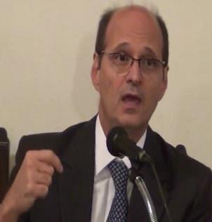 Desembargador Abel Gomes não admitiu seu nome na cédula da AJUFE (Foto: reprodução do Youtube)