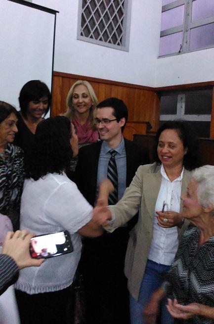Deltan Dallagnol recorreu às igrejas Batistas na busca de apoio ao  projeto das Dez Medidas Contra a Corrupção. (Foto: Marcelo Auler -  27/07/2015)
