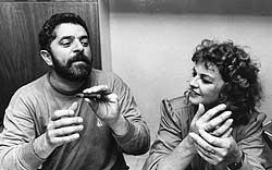 Lula em Marisa, 43 anos de convivência na alegria e na tristeza, na saúde e na doença, e agora, também, na perseguição implacável. Foto de 1989