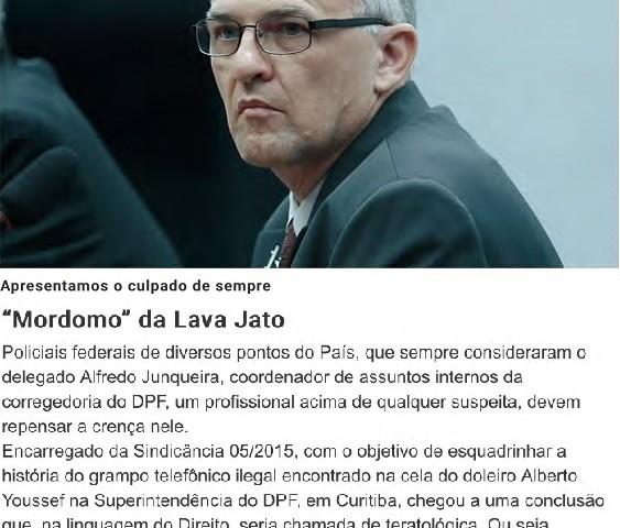 Em CartaCapital desta semana, Maurício Dias antecipa que o Mordomo será o culpado. - Reprodução editada.