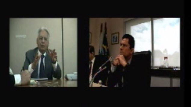 FHC depõe perante Sérgio Moro