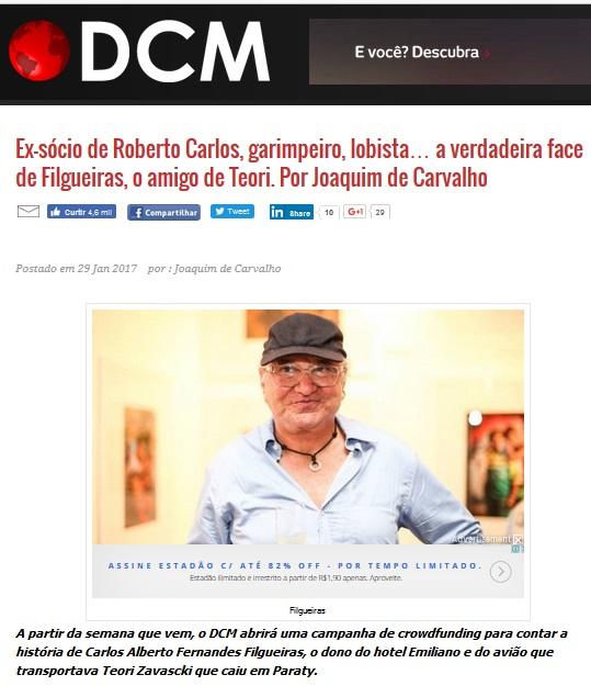 Artigo de Joaquim de Carvalho, no DCM, levanta dúvidas sobre a isenção de Teori Zavascki