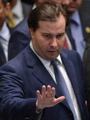 Ao tentar blindar os partidos da Lava Jato, Rodrigo Maia levou o troco da Polícia Federal. Foto Reprodução da