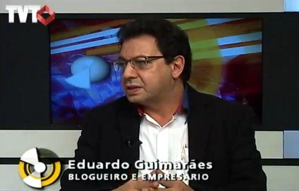 Eduardo Guimarães, vítima de condução coercitiva e da apreensão do celular e equipamentos eletrônicos.