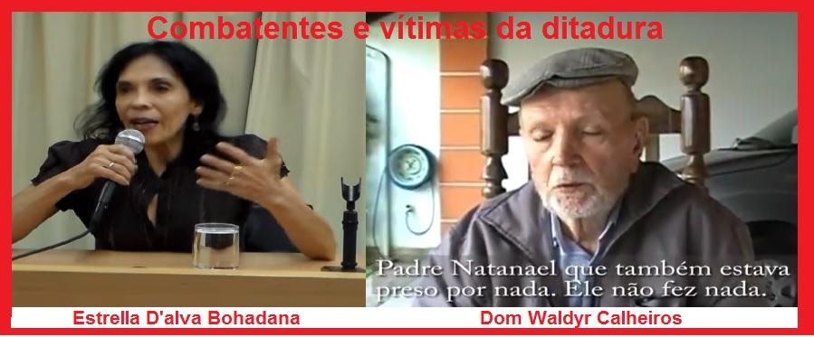 Estrella Bohadana e Dom Waldyr