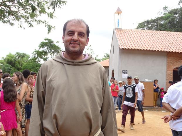 Frei Gilberto Rodrigues, ameaçado por ser contra a mineração (Foto reprodução da Internet).