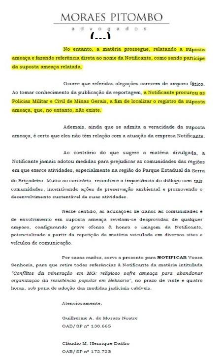 Na nota dos advogados da CBA consta que não localizaram o Boletim de Ocorrência...