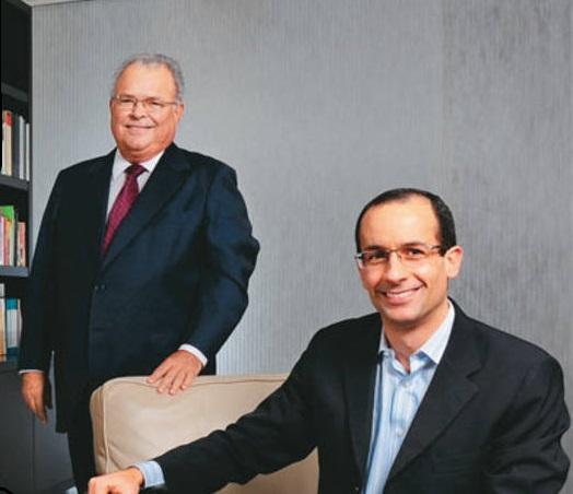 Emilio e Marcelo Odebrecht