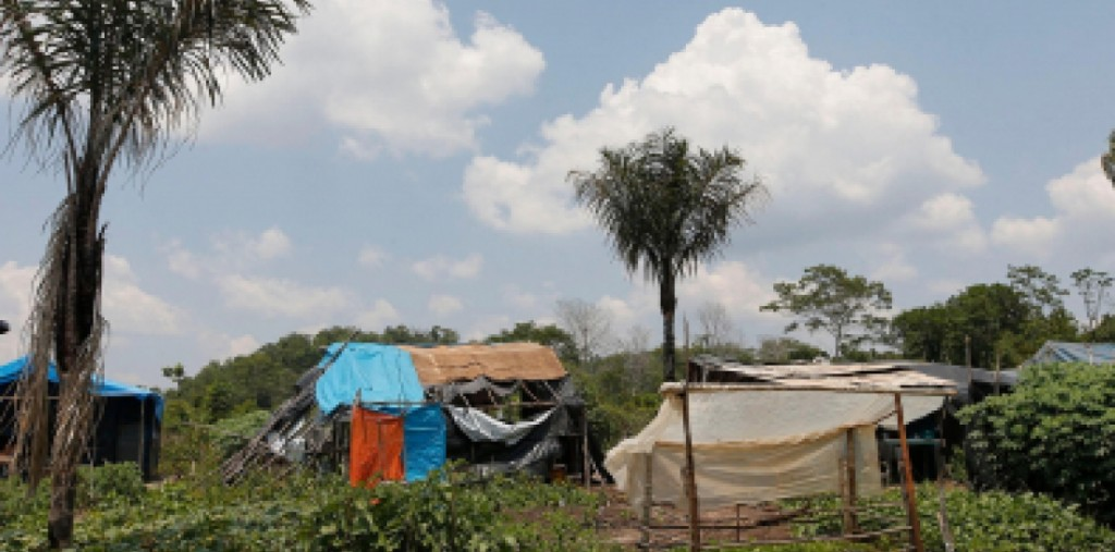 Gleba Taquaraçu do Norte, no município de  Colniza (MT)