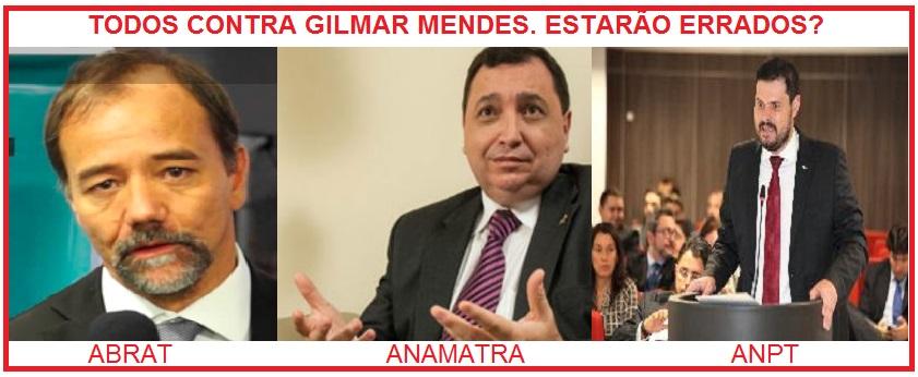 Todos contra Gilmar Mendes
