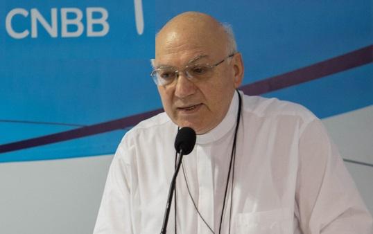 Dom Francisco Biasin, bispo de Volta Redonda. Foto Reprodução