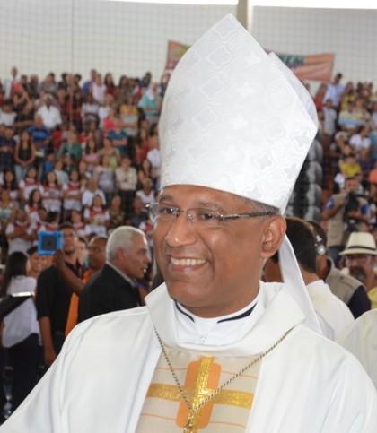 Dom Zanoni, arcebisoo de Feira de Santana e Referência da Pastoral Afrobrasileira = Foto reprodução