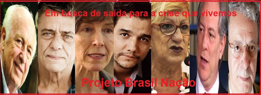 o apoio ao projeto Brasil Nação