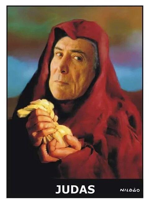 Temer, o Judas que trai os trabalhadores. (Foto retirada do Portal Vermelho - http://www.vermelho.org.br/noticia/285721-8
