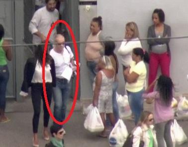 No domingo (30/04), Eike Batista deixou Bangu e foi cumprir prisão domiciliar (Foto: Reprodução GloboNews)