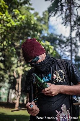"""Ciro Gomes sobre black blocs: """"eu compreendo com o meu coração"""" - Foto: Francisco Proner Ramos no Ocupa Brasília"""