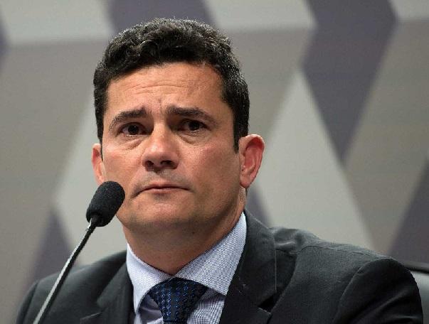 Sérgio Moro, reprimenda de um colega seu. (Fot Fabo Rodrigues Pozzebom/Agência Brasil)