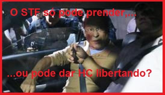 José Dirceu foi cercado por populares e jornalistas, que criticaram sua liberdade, ao chegar em casa. (foto: Fabio Rodrigues Pozzebom/Agência Brasil)