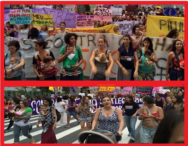 maes e gravidas nas manifestações2