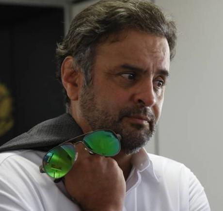 O senador afastado Aecio Neves foi usado por Temer paea pressionar Alckmin. Foto: Marri Nogueira/Agência Senado